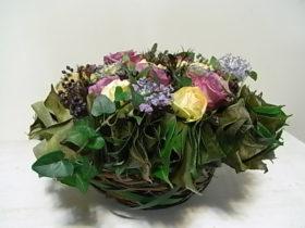 誕生日の花 ローズ、ブルーレース、ティヌス、など