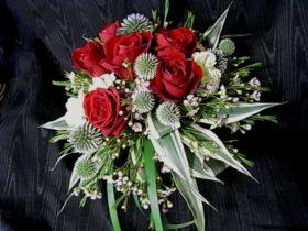 赤系の花 ローズ、