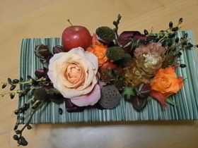 お誕生日の花 ローズ、リンゴ、etc