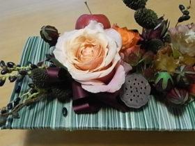お誕生日の花 ローズ、リンゴetc