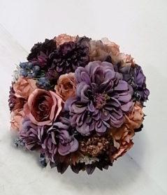 ウエディングブーケ アートフラワー(造花)