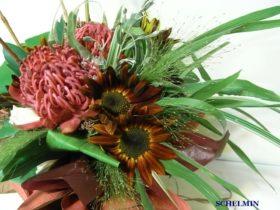 花束 ひまわり、スモークグラスetc