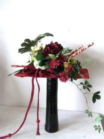 和装ブーケ:造花