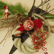 しめ飾り・お正月飾り 受注承り中。