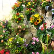 ドイツ記:花屋で花束をつくる