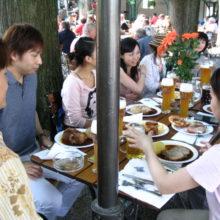 ドイツ記:ドイツでの食事 1