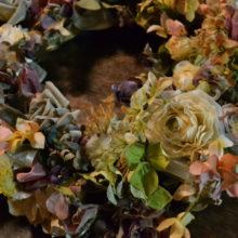 アーティフィシャル、造花、リース