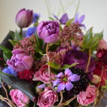 3月は花束レッスンです。日程をご覧ください。