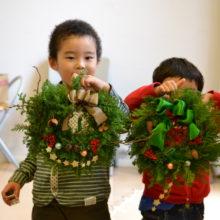 アイランドシティ出張ワークショップ11月26日(土) :クリスマスリースを作ろう