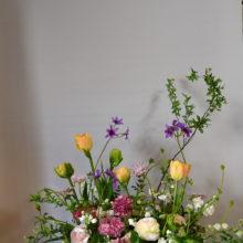 退職お祝いの花