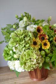 ひまわり,お祝いのお花