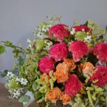夏に贈るお見舞いのお花