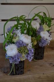 お供えのお花,プリザーブドフラワー