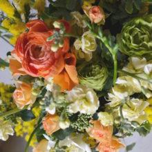 長崎の離島まで、お礼のお花を送ります。