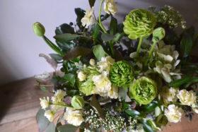 グリーン系のお花